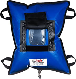 EZPACK Water Storage Bladder - Water Container with Spigot - BPA Free Replaceable Bag - Water Tank for Camping Gear Essentials, Road Trip Essentials, Hurricane Supplies for Home
