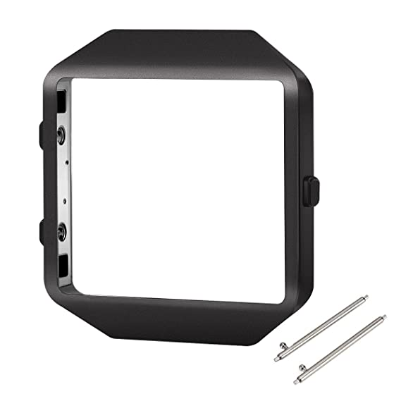 Amazon.com: Fitbit Blaze Frame, iHYQ Replacement Accessory Stainless ...