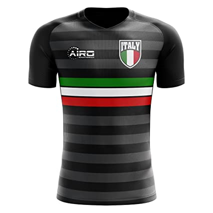 26fd6cbca Image Unavailable. Image not available for. Color  Airo Sportswear 2018-2019  Italy Third Concept Football ...
