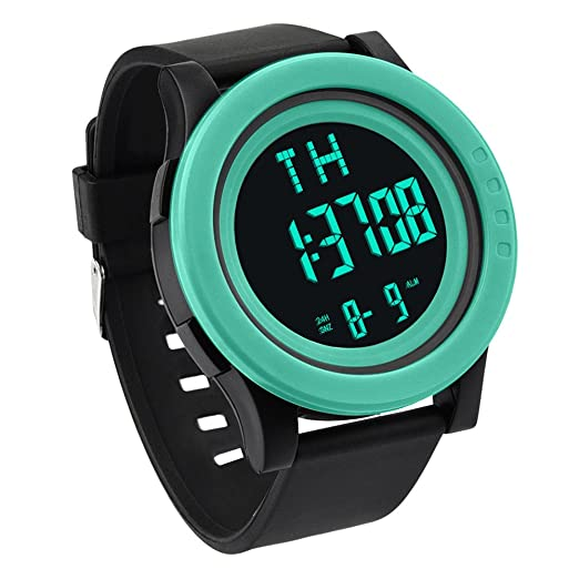 ... Resistant Digital Wrist Watches LED Outdoor Watch on Sale on Clearance Military Quartz Watchs with Rubber Silicone Strap Rubber Case Relojes De Hombre