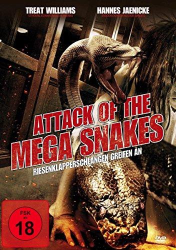 Attack of the Mega Snakes-Riesenklapperschlangen [Import anglais]