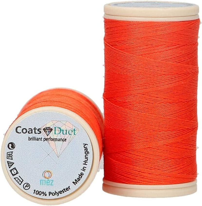 Universal hilo de coser St 100 abrigos Duet 100 m naranja 7780