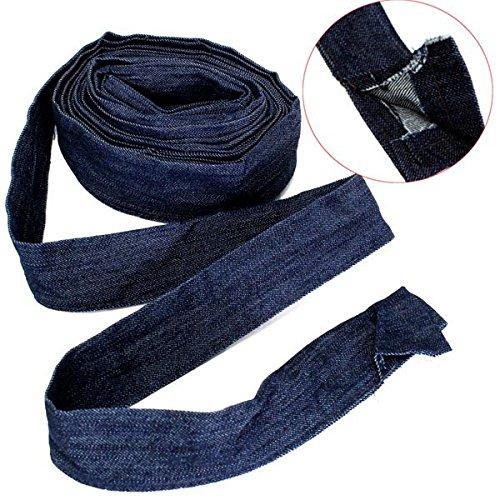 Pukido 7.5m Power Cable Cover Cowboy Cloth for Plasma Cutting Gun Argon Arc Welding