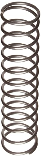 Steel 0.18 OD 6.8 lbs Load Capacity 0.031 Wire Size 13.1 lbs//in Spring Rate Pack of 10 Inch Music Wire Extension Spring 1.25 Free Length 1.72 Extended Length 0.18 OD 0.031 Wire Size 1.25 Free Length 1.72 Extended Length E01800311250M
