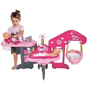 Kinder Puppenstation   Küche/Schlafzimmer/Badezimmer   Zusammenklappbar    13 Teiliges Zubehör