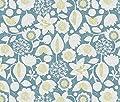 Spoonflower Ottomanbrim Fabric - Ottomanbrim Flowers Neutral Woodcut Floral Lily Lilies Ottomanbrim Printed The Yard
