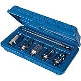 Silverline 867613 Coffret de Douilles de Vidange, 6 Pcs, Bleu