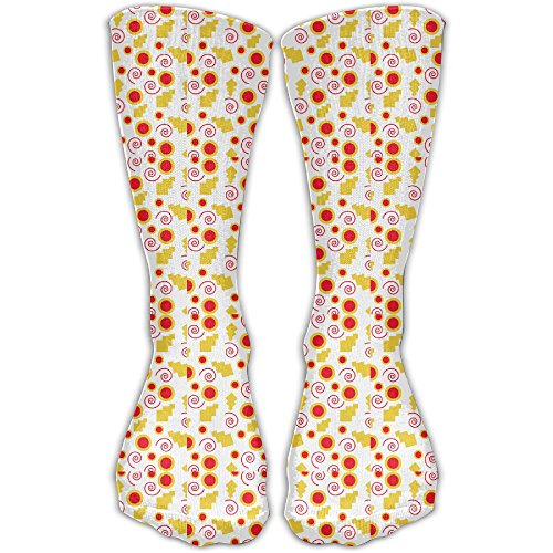 Abacus Series - Spiral Confetti Graduated Compression Socks For Women And Men - Best Medical, Nursing, Travel Running Fitness