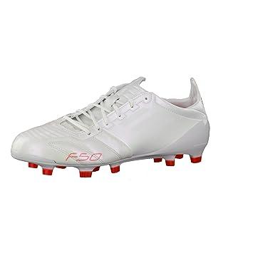 promo code f075e e06f2 adidas F50 adizero TRX Firm Ground Leather Football Boots - Lightning White   Lightning White  Infrared - UK Size 10 Amazon.co.uk Sports  Outdoors