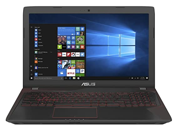 Asus FX553VD-DM1031T 2017 15.6-inch Laptop (7th Gen Core i5/8GB/1TB/Windows 10 - 64bit/2GB Graphics), Black Laptops at amazon
