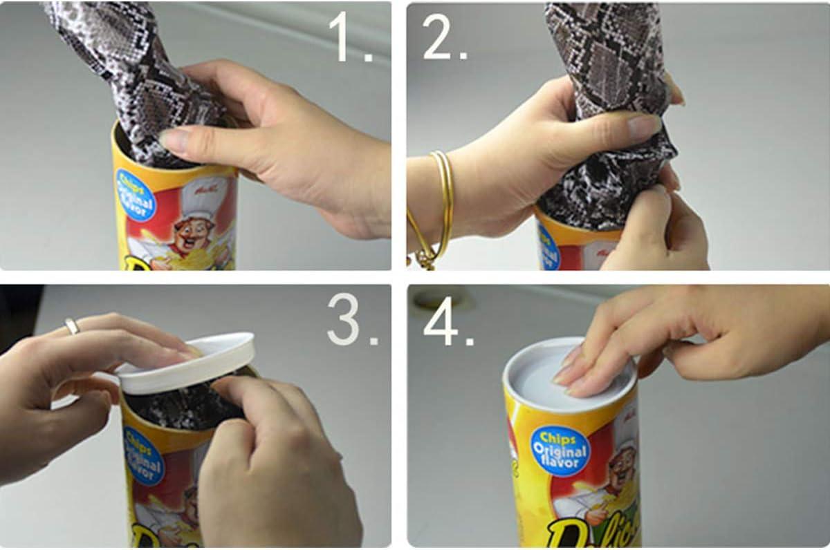 Funny Potato Chip Can Jump Spring Snake Toy Gift Jokes Prank Trick Fun Joke Toji