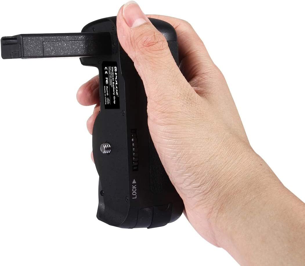 JSUJHA AJSU Vertical Camera Battery Grip for Nikon D5500 Digital SLR Camera