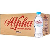 Alpha Pure Drinking Water, 350ml (Pack of 24)