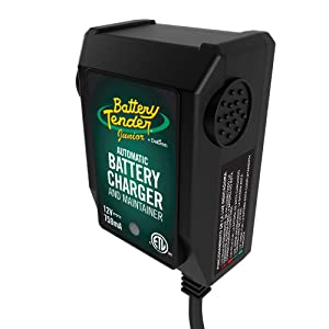 The Battery Tender Junior is a completely safe battery charger