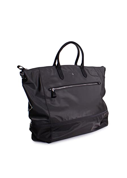 d39a0ac37b92 Amazon.com  Michael Kors Kelsey Nylon Expandable Extra Large Travel Tote in  Graphite  Clothing