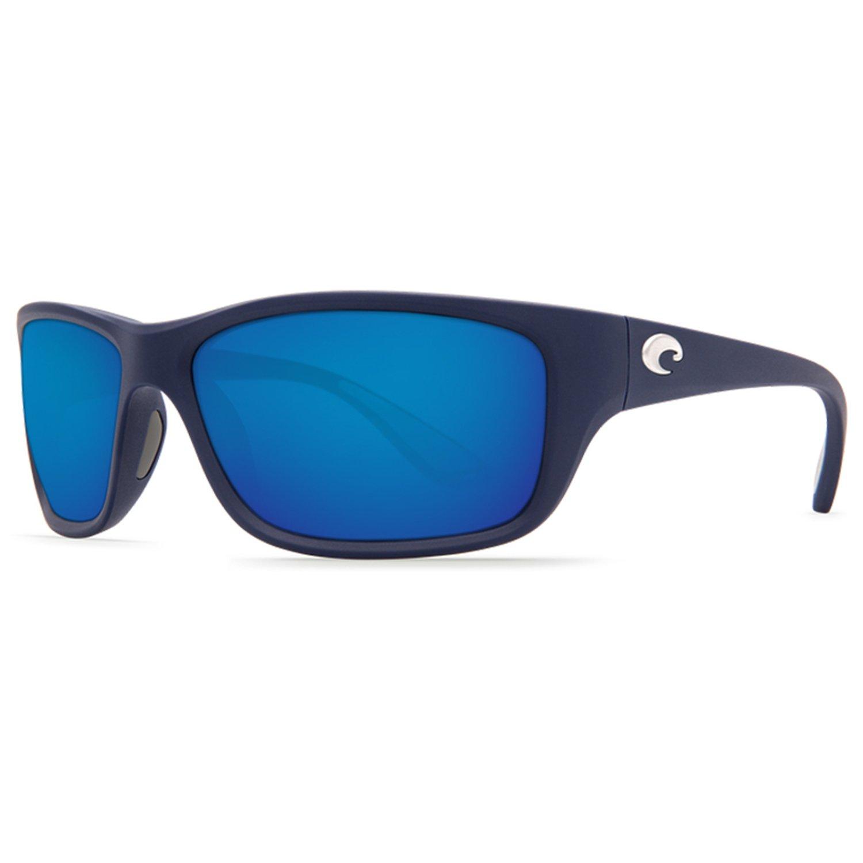 TASMAN SEA, BLUE MIRROR 400 GLASS, MATTE DARK BLUE FRAME
