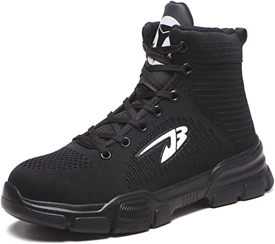 MENS LADIES WOMENS LIGHTWEIGHT STEEL TOE CAP WORK SAFETY BOOTS SHOES TRAINERS UK