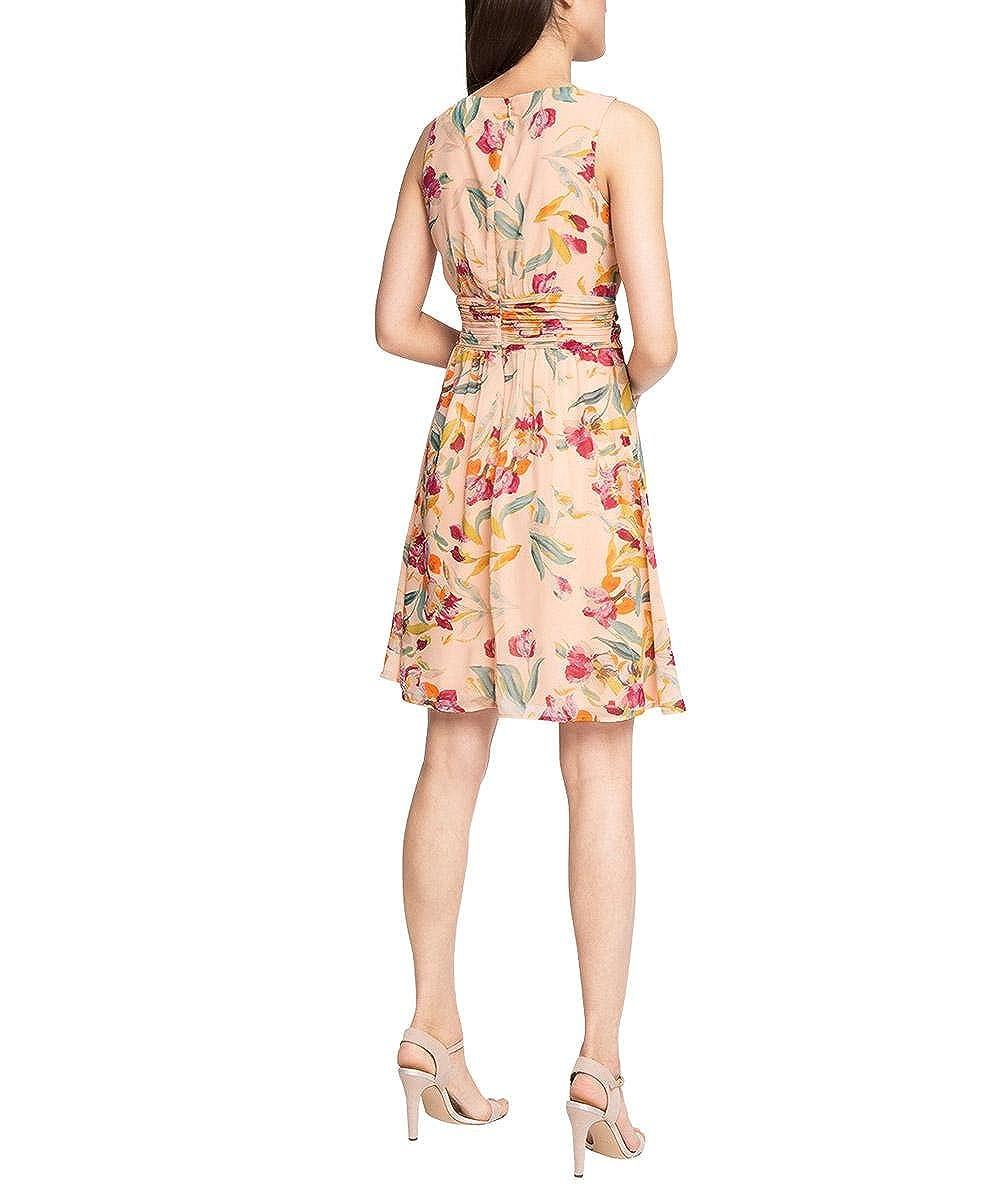 Womens mit Flowerprint Sleeveless Dress Esprit ji81lG