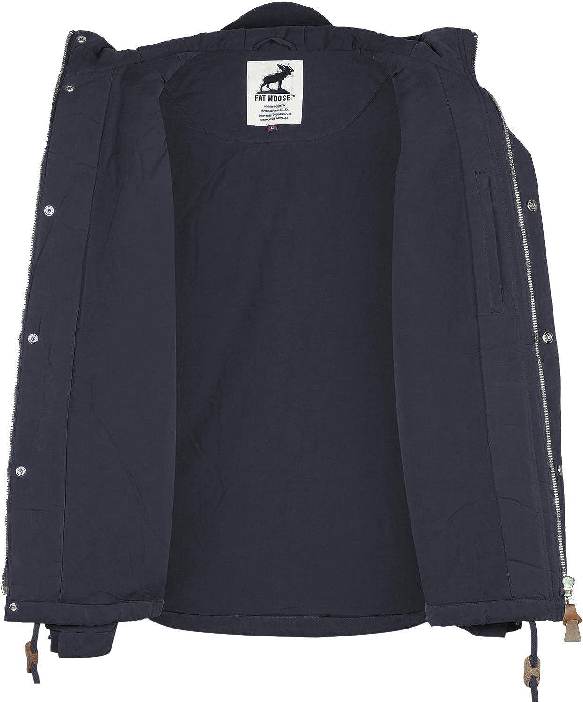aa516b8a7a Fat Moose Sailor Winter Jacke M navy: Amazon.de: Sport & Freizeit
