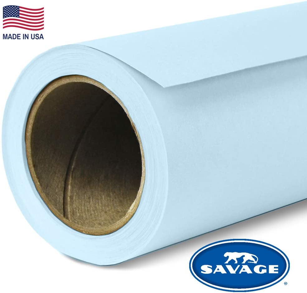 Savage Seamless Background Paper - #41 Blue Mist (107 in x 36 ft)