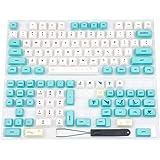 YMDK 129 Key Spring Scenes Dye Sub ZDA Ball Shape PBT Keycap Similar to XDA for MX Keyboard 104 87 61 Melody 96 KBD75 FC980M