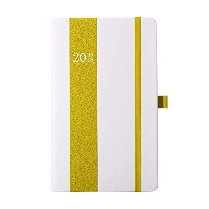 Planner 2019 Weekly/Monthly Academic Year Agenda Hardcover Planner Time Management Premium Thicker Paper Notebook with Pen Holder and Pocket ...