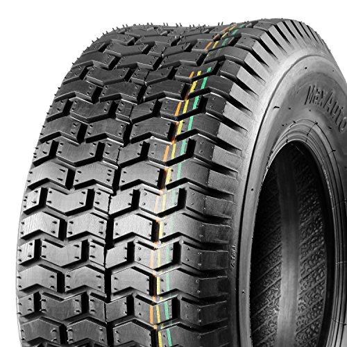 MaxAuto Turf Tire- 16x6.50-8 16/6.50-8 4Ply Tubeless for John Deere Lawn and Garden Tractor