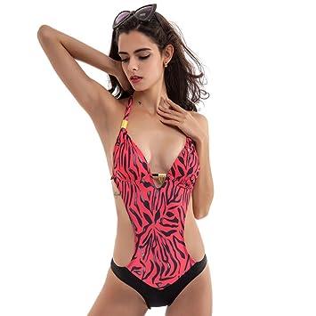 b1ab487c22 Amazon.com: Sexy Bikini 2017 Hot sale! Sunfei Sexy Women Retro Printing One  Piece Swimsuit Padded Bikini Swimwear Bikini for Holiday,Summer,Party,Beach  ect ...