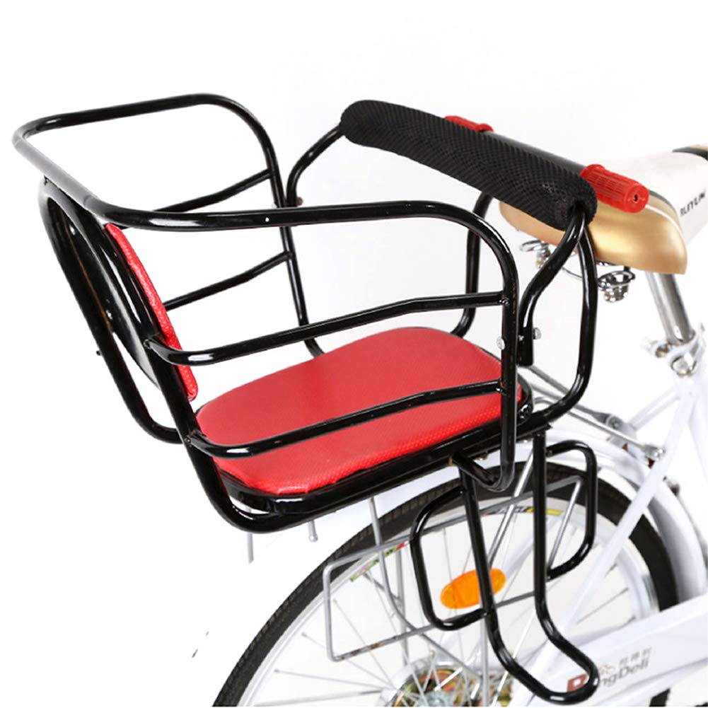 NACHEN Bicycle Child Seat Rear Baby Thickening to Increase The Seats with Armrest and Pedal
