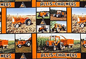 Amazon Com Allis Chalmers Tractor Fleece Fabric Soft And