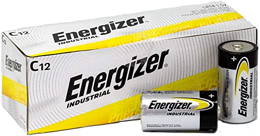 Health & Household C 12 Batteries/Box C Energizer EN93 Industrial ...