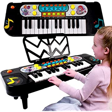 Cascat Kids' Pianos Keyboards Musical Toys,37 Keys Multifunction Kids Piano Mini Keyboard for Kids