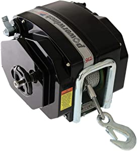 Powerwinch Trailer Winch 12V, 7,500 pounds, 23 feet max
