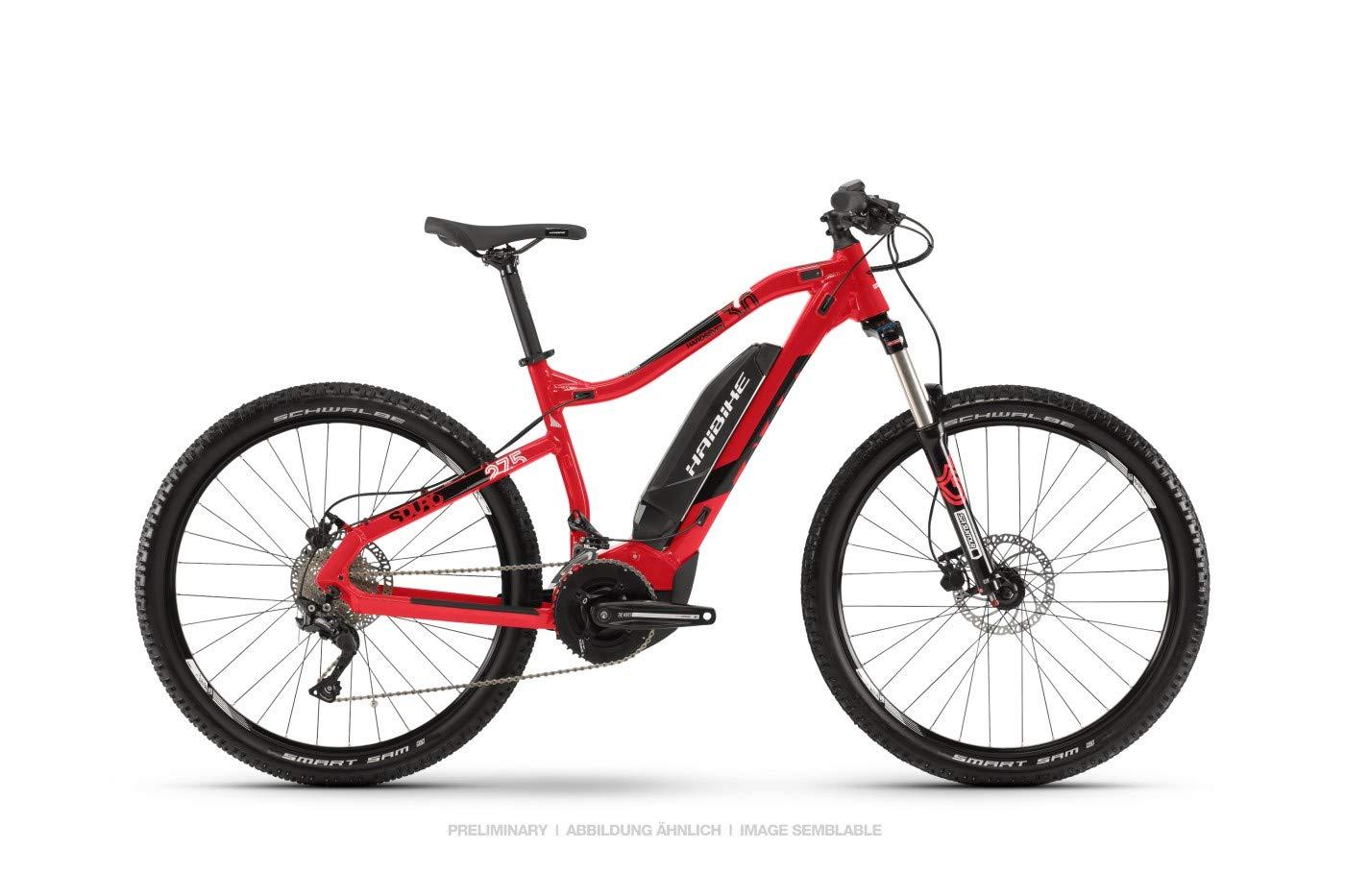 a7f31b4dc4b759 HAIBIKE Sduro HardSeven 3.0 27.5 Inch Pedelec E-Bike MTB Black Grey 2019