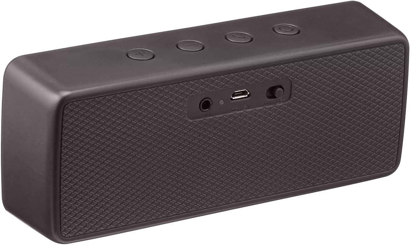 Amazon Basics Portable Wireless, 100.10 Bluetooth Speaker, Black