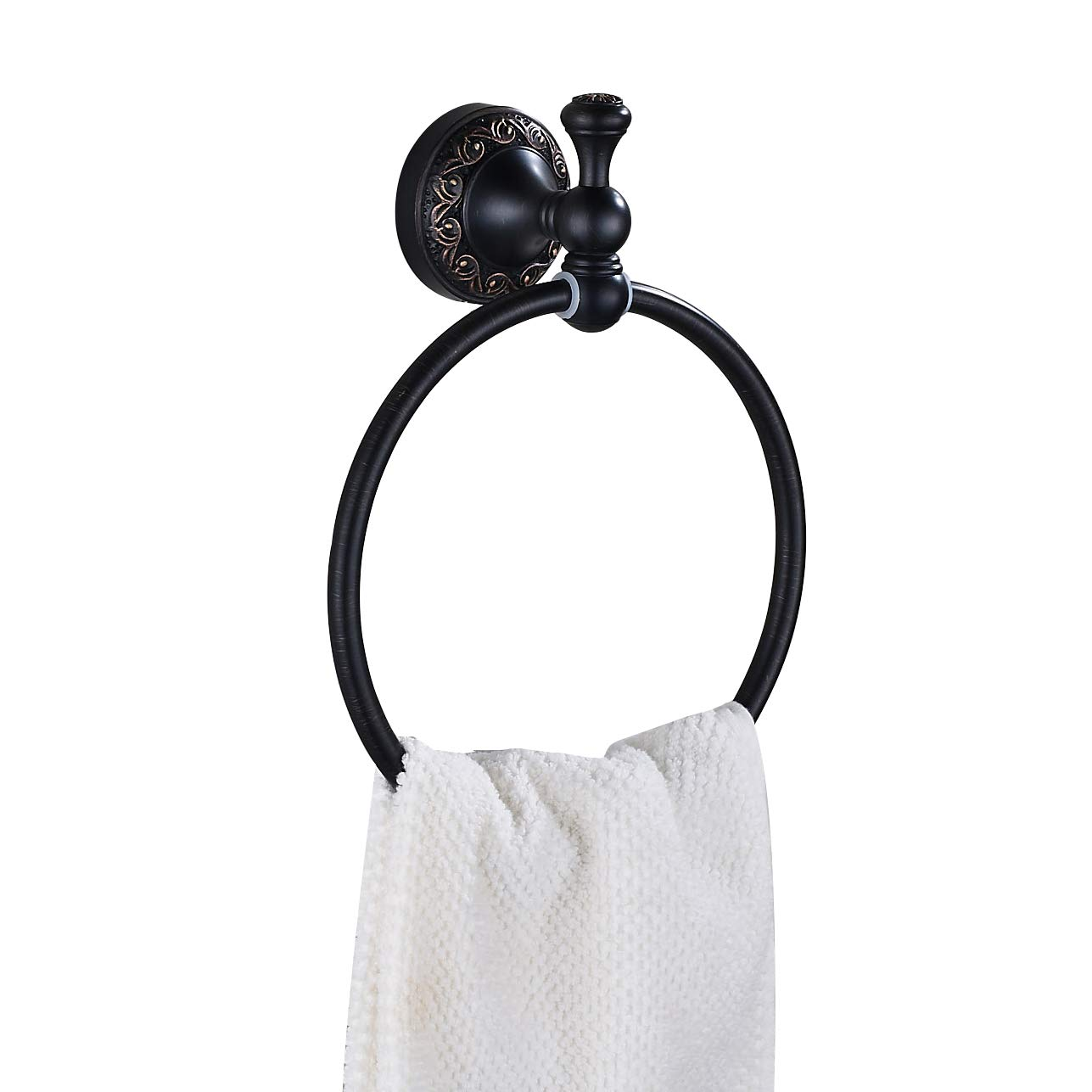 Rozin Wall Mounted Bath Towel Ring Oil Rubbed Bronze