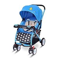 R for Rabbit Cuppy Cake - The Cute Pram Cum Baby Stroller for Baby/Kids (Blue Black)