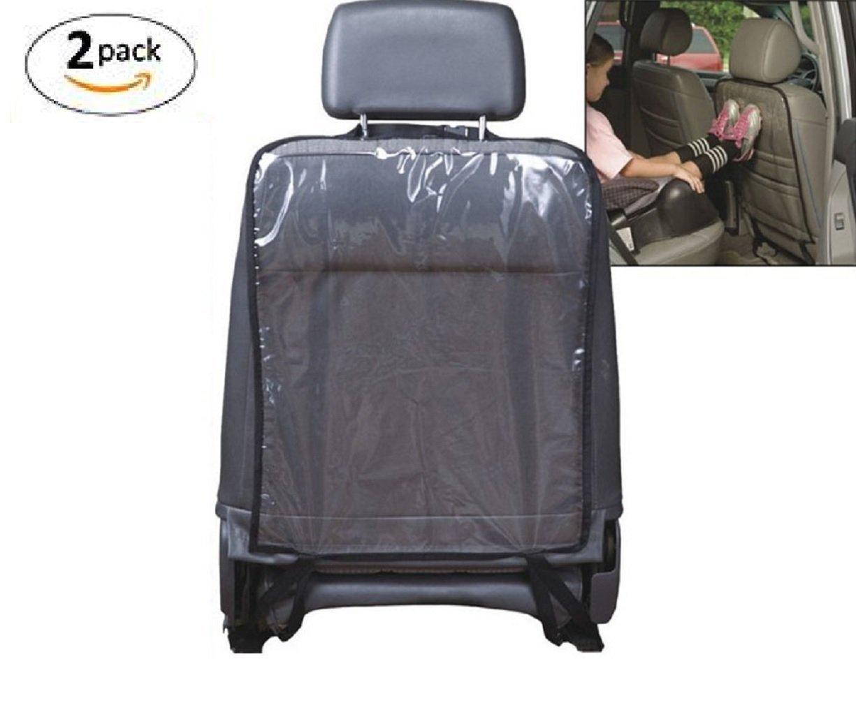 Tily universel clair transparent Coque de protection pour dossier de siège de voiture pour bébé enfant enfants Kick Mat Boue propre