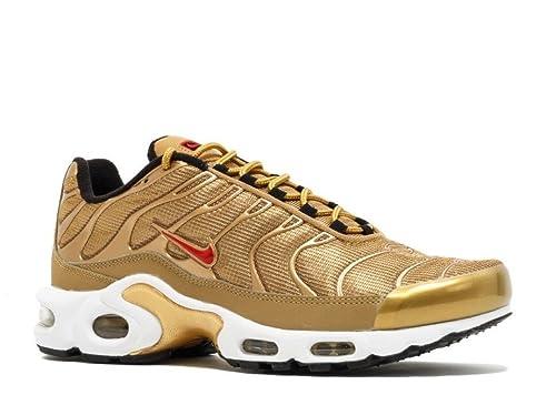 Air MAX Plus QS 'Metallic Gold' Womens 887092 700: Amazon