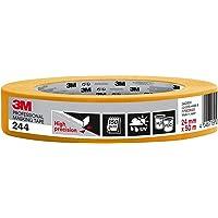 3M 244 professionele schildertape voor scherpe kleurranden, UV-bestendig, binnen en buiten, 24 mm x 50 m