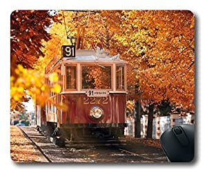Autumn In Prague Thanksgiving Personlized Masterpiece Limited Design Oblong Mouse Pad by Cases & Mousepads