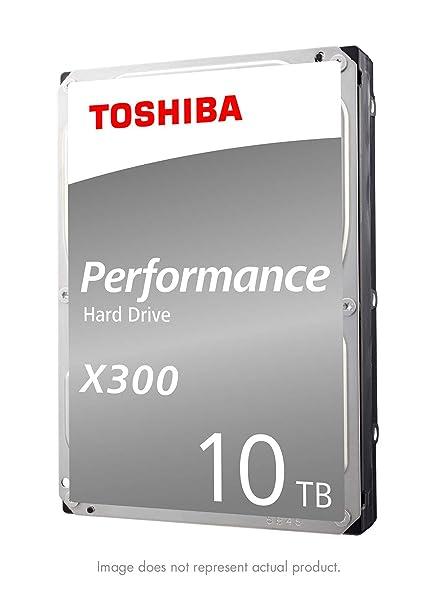4287d4948 Amazon.com: Toshiba HDWR11AXZSTA X300 10TB Performance & Gaming Internal Hard  Drive 7200 RPM SATA 6Gb/s 256 MB Cache 3.5