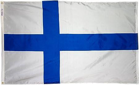 NEW 3X5FT FINLAND GARDEN DECOR YARD FLAG superior quality