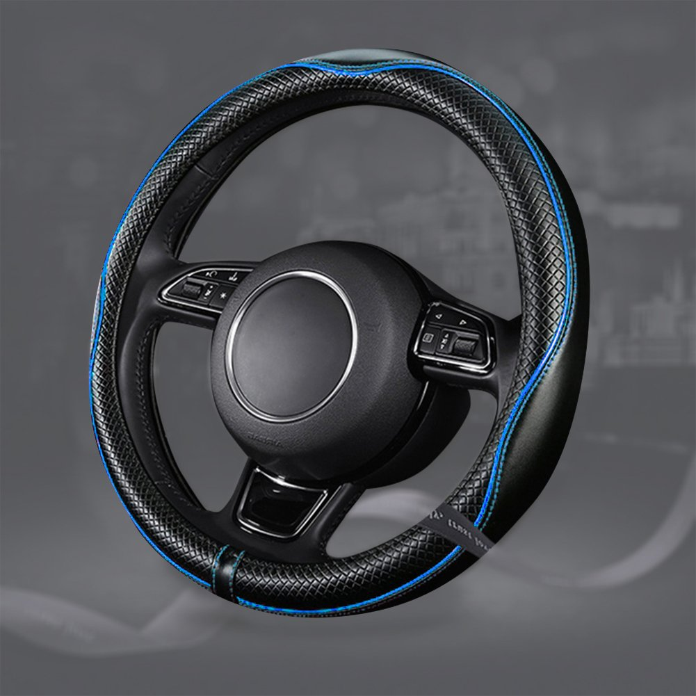 ECLEAR Car Steering Wheel Lock Universal Anti-Theft Retractable Heavy Duty Lock Device Self-defense with 3 Keys for Auto//Truck//SUV//Van