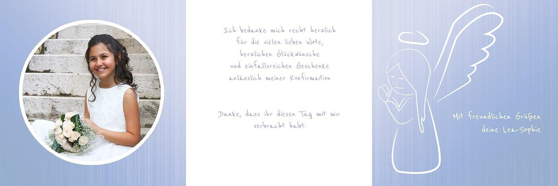 Weitere Weitere Weitere Anlässe   Dankeskarte Konfirmation_Angel   30 Karten (format  145.00x145.00mm) Farbe  Rosa B075CL11BL   Jeder beschriebene Artikel ist verfügbar    Export    Zarte  ae0852