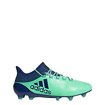 official photos 066f5 3f561 adidas X 17.1 Firm Ground Cleat Mens Soccer 9 Aero Green-Ink-Hi Res