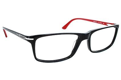 b15b84e35c7 Amazon.com  Hackett London Large Fit HEK1130 Mens Eyeglass Frames - Black   Clothing