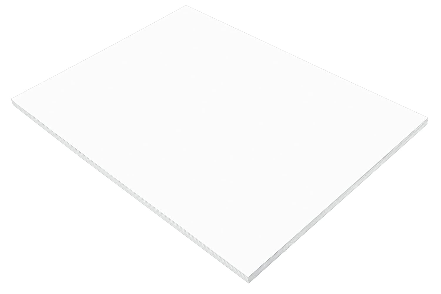 Pacon SunWorks Construction Paper, 18 x 24, 50-Count, Bright White (8717) 18 x 24 Pacon Corp.