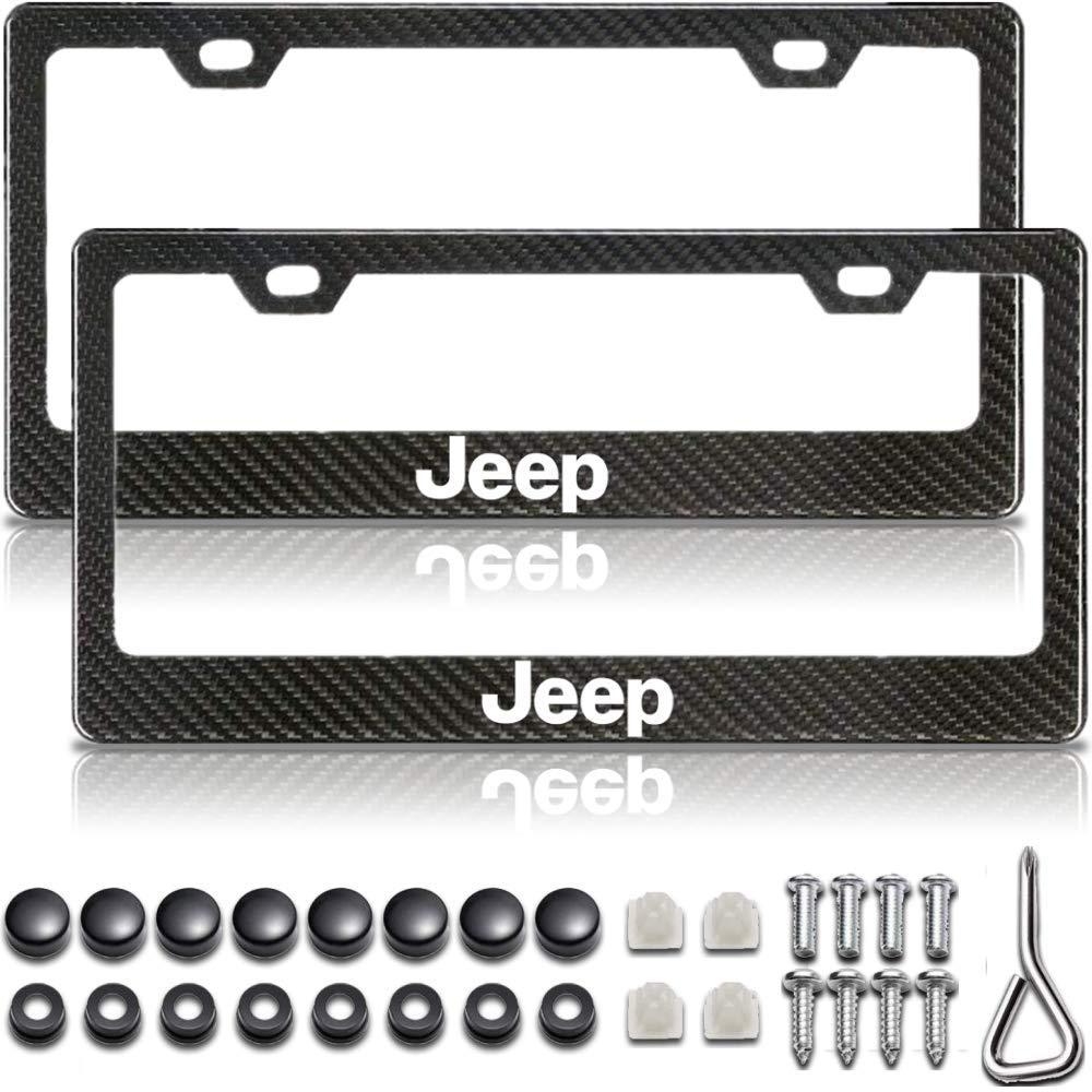 Black License Plate Frame Jeep Plate Frame Jeep Wrangler License Plate Frame Jeep License Plate Frame License Plate Frame Carbon Fiber License Plate Frame Jeep Carbon Fiber License Plate Frame
