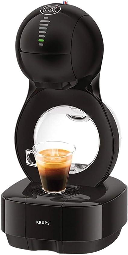 Krups Dolce Gusto Lumio KP1308 - Cafetera de cápsulas, 15 bares de presión, color negro: Amazon.es: Hogar